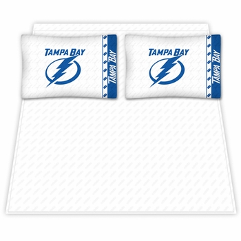 Tampa Bay Lightning Microfiber Sheet Sets & Extra Pillowcases