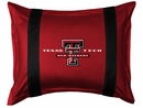 Sidelines TEXAS TECH RED RAIDERS Standard Sham