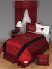 Sidelines TEXAS TECH RED RAIDERS Twin Bedskirt