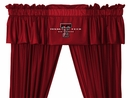 Sidelines TEXAS TECH RED RAIDERS Valance
