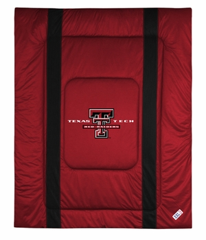 Sidelines TEXAS TECH RED RAIDERS Twin Comforter