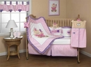Fuzzy Girl Bear Infant Bedding