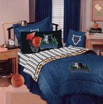 MINNESOTA TIMBERWOLVES Denim Bedding