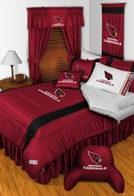 Sidelines ARIZONA CARDINALS NFL  Bedding and Accessories