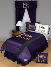 Sidelines BALTIMORE RAVENS Bedding and Accessories