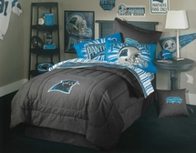 NFL II Carolina Panthers Twin Sheet Set