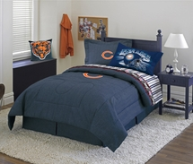 Chicago Bears Denim Valance, Bedding & Accessories