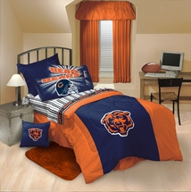 Chicago Bears NFL Logo Bedding