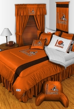 Sidelines CLEVELAND BROWNS Bedding and Accessories