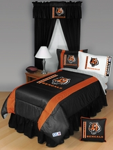 Sidelines CINCINNATI BENGALS Bedding and Accessories