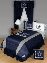 Sidelines Dallas Cowboys Bedding and Accessories