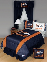 Sidelines DENVER BRONCOS Bedding and Accessories