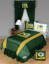 Sidelines Green Bay Packers Bedding and Accessories