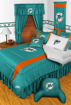 Sidelines MIAMI DOLPHINS Bedding and Accessories