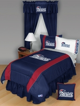 Sidelines New England Patriots Bedding and Accessories