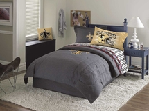 New Orleans Saints Pillowcases, Wall Border,  Bedrest
