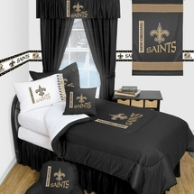 New Orleans Saints Locker Room Bedding & Accessories