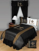 Sidelines NEW ORLEANS SAINTS Bedding and Accessories