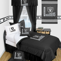 Oakland Raiders Locker Room Bedding & Accessories