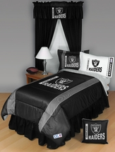 Sidelines OAKLAND RAIDERS Bedding and Accessories