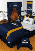 Sidelines SAN DIEGO CHARGERS Bedding and Accessories