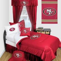 San Francisco 49ers Locker Room Bedding & Accessories