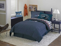 Seattle Seahawks Denim Comforter & Sheet Set Combo