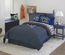 St. Louis Rams Denim  Comforter & Sheet Set Combo