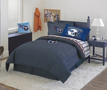 Tennessee Titans Denim  Comforter & Sheet Set Combo