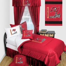 Tampa Bay Buccaneers Locker Room Bedding & Accessories