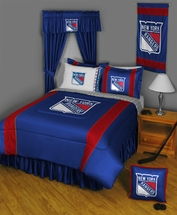 NEW YORK RANGERS NHL Bedding-Sidelines