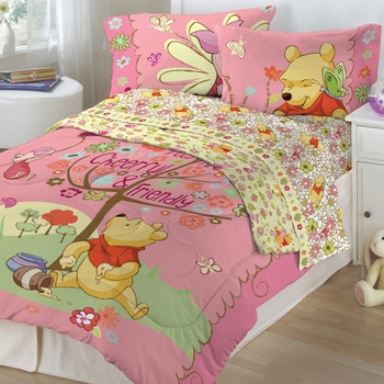 winnie the pooh kids bedding sheets comforters