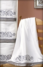 Avalon Embellished Bath Towel Sets