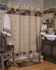 PRIMITIVE WELCOME Shower Curtain, Towels & Accessories