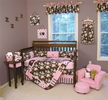 BLOSSOMS Nursery Bedding & Accessories by Trend Lab