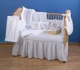 CLASSIC WHITE PIQUE Nursery Bedding & Accessories by Trend Lab