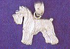 Dog Charm14K White Gold  - DAZ-11141