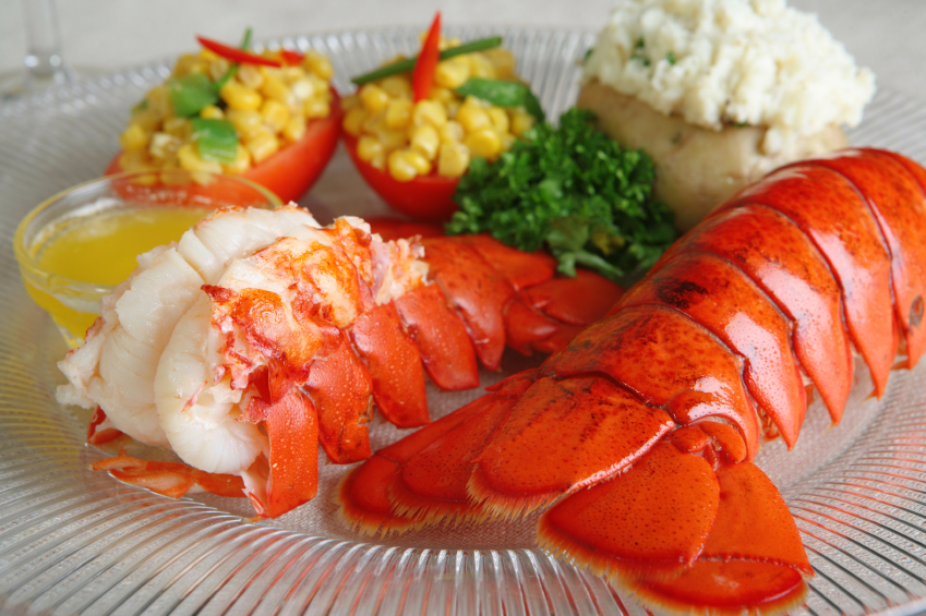 (Four Count) 10-12oz. Maine Lobster Tails