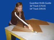 "SAWTRAX Guardian Knife Guide 54"" (Box of 2 pcs)"