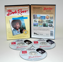 ROSS DVD JOY OF PAINTING SERIES 19. FEATURING 13 SHOWS - Click to enlarge