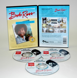 ROSS DVD JOY OF PAINTING SERIES 26. FEATURING 13 SHOWS - Click to enlarge