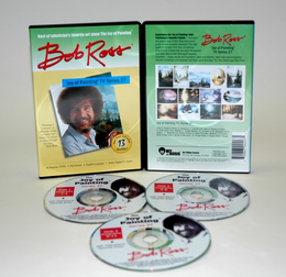 ROSS DVD JOY OF PAINTING SERIES 27. FEATURING 13 SHOWS - Click to enlarge