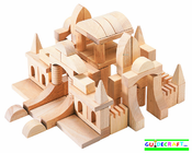 GUIDECRAFT Table Top Blocks (Wood)