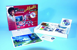 BOB ROSS MASTER PAINT SET WITH 1 HOUR DVD - Click to enlarge