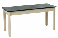 Lab Table - plain - powder coat top  (Quick Ship)-7