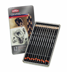DERWENT Graphic - Set of 12 SOFT GRAPHIC SKETCHING PENCILS