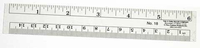 C-Thru  Co-Ed Ruler - 12 in.