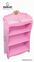 KIDKRAFT Princess Bookcase - Click to enlarge