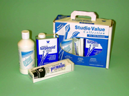 STUDIO VALUE GESSO, PERMALBA WHITE & TURPENOID SET