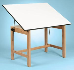 Alvin Titan Wood Table 36X48X30